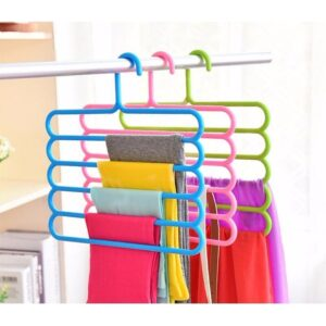 Pack of 4 Multi purpose 5 Layers Clothes Hanger