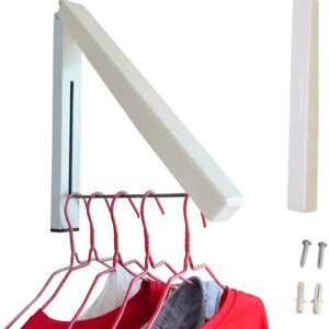 Wall Clothes Hanger Rack Space Saving Fold able